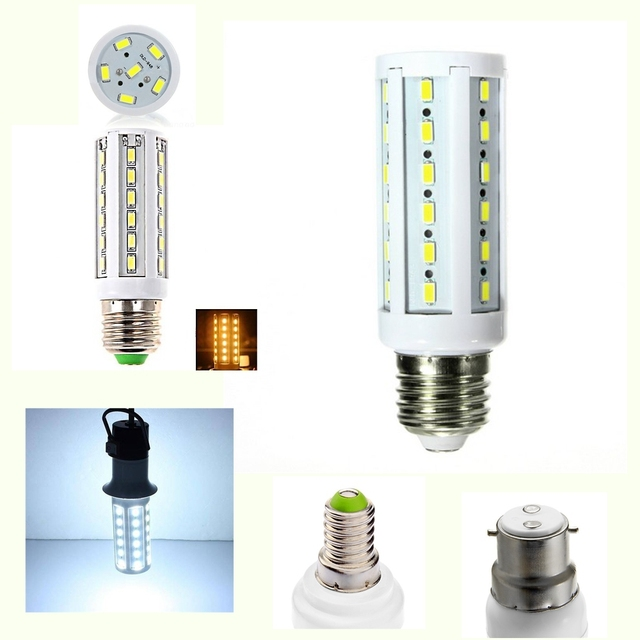 5pcs/lot E27 E14 B22 220V 110V lampada Led Light Lighting Lamp Lamparas Bulbs Spot Bulb Ampolletas Bombillas Spotlight Chip
