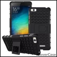 Heavy Duty Dual Case Impact Hybrid Armor Hard Back Cover for Xiaomi Mi 4i