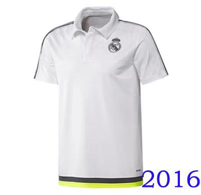 2016 new men Polo Real Madrid de futbol camiseta real madrid 2016 Chelsea AC milan polo shirts soccer Training football Jerseys(China (Mainland))