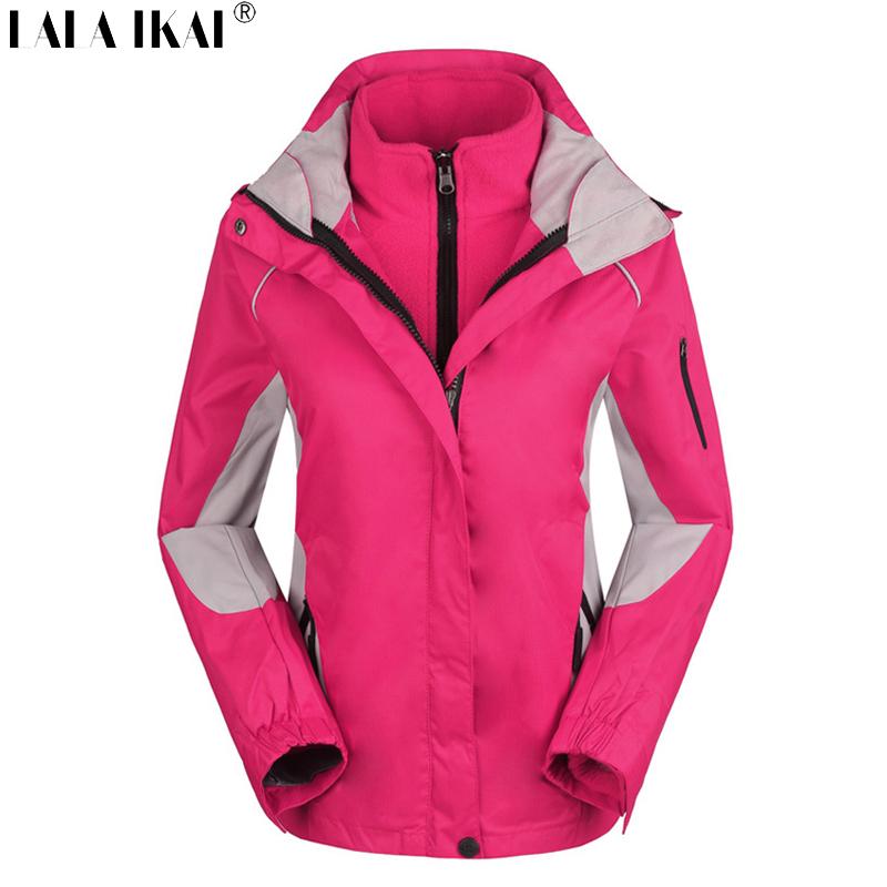 Softshell Jacket Women Windproof Waterproof Climbing Camping Jacket Winter Thermal Outdoor Jacket Trekking Jacket HWA0105-2