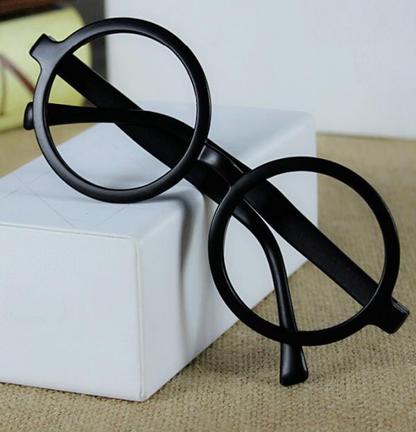 2015 fashion No Lens Glasses Frame Big Round Popular ...