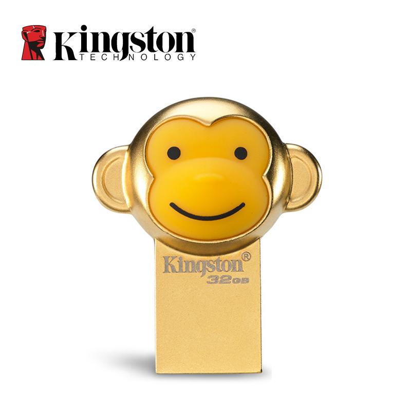 2016 New KINGSTON USB 3.1 Monkey USB Flash Drive 32GB Pen Drive Real Capacity USB 3.0 32 GB Memory Stick DTCNY16(China (Mainland))