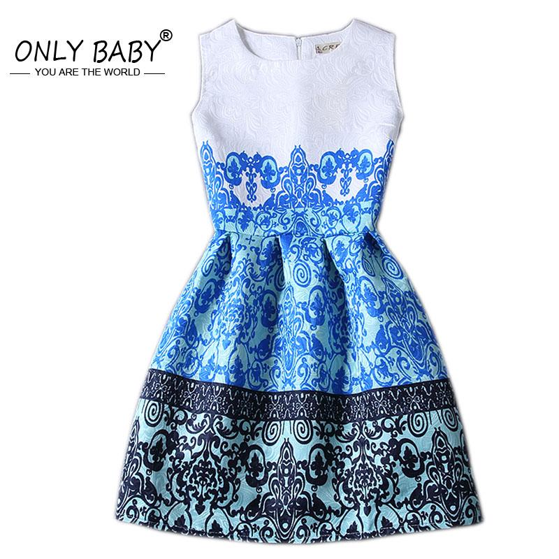 European Style Teenage Girls Dress Kids Dresses for Girls Sundress Princesa Sofia Dress Kid Clothes 8 9 10 11 12 13 14 Years Old(China (Mainland))