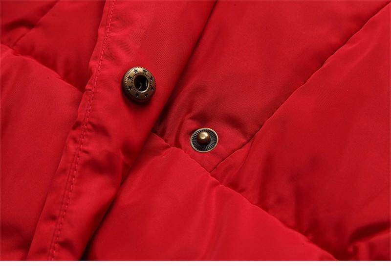Скидки на 2016 Новый Зимний Пуховик Женщин Корейской Моды Теплый Тонкий ветровки Женские Пальто Плюс Размер Твердые Вниз Пальто Женской Верхней Одежды C220