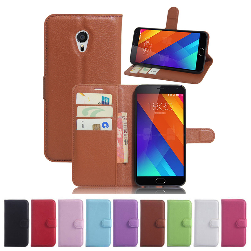 Case Meizu MX6 Wallet Flip Leather Case Card Slots Stand Holder Cover Meizu MX6 MX 6 M685 Cell Phone Bag
