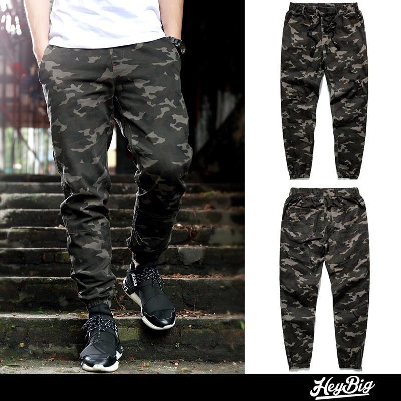 2015 New arrival chinos skinny joggers casual pant men military camouflage pants harem pants sweat pants men trousers(China (Mainland))