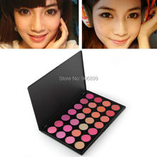 10 / 28  Color Professional Makeup Blush Face Blusher Powder Palette Pigmented Cosmetics Free Shipping Make Up Product(China (Mainland))