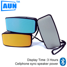AUN 2016 Bluetooth Speaker Set-in 400mAH Battery Speakers for The Computer Loudspeakers Universality Portable Speaker AY10