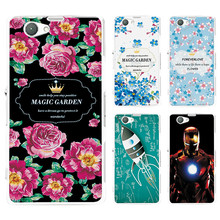 "Buy Ample Hard Plastic Cartoon Cases Sony Xperia Z1 Compact Z1 Mini D5503 4.3"" Cover Sony Z1 Mini Phone Shell Back Skin for $1.39 in AliExpress store"