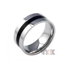 enamel jewelry mens rings stainless steel fahion jewelry trendy rings