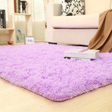 Alfombras de colores sólidos alfombra de baño más grueso alfombra de área antideslizante para sala de estar suave para alfombra de dormitorio infantil(China)