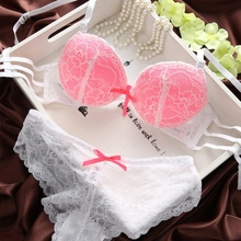 Sexy Women Set Lace Lingerie Underwear Push-Up Padded Bra Underwire Outfits New Y2 L4
