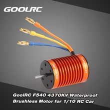 Buy GoolRC F540 4370KV Waterproof Brushless Motor 1/10 RC Car WLtoys 10428/12428 HG P601 for $17.99 in AliExpress store