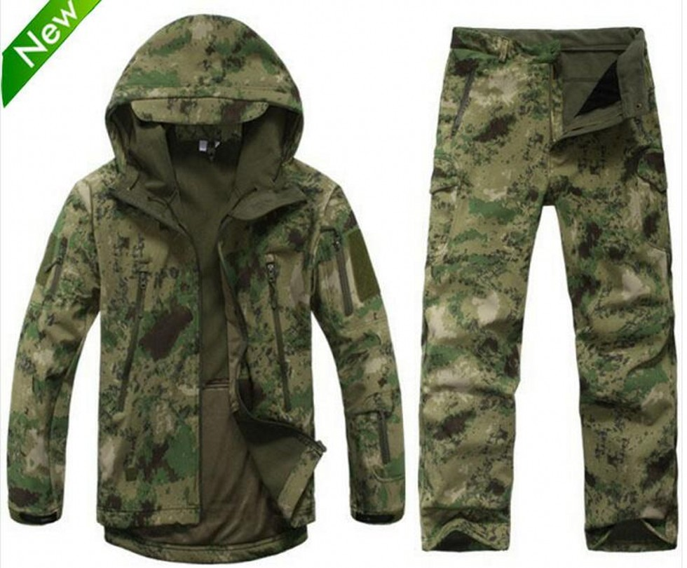 TAD Lurker Shark skin Soft Shell TAD V 4.0 Outdoor Military Tactical Jacket Waterproof Windproof Sports Army Outerwear Clothing(China (Mainland))