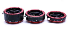 New Metal Mount Auto Focus AF Macro Extension Tube Ring for Canon EF S Lens T5i