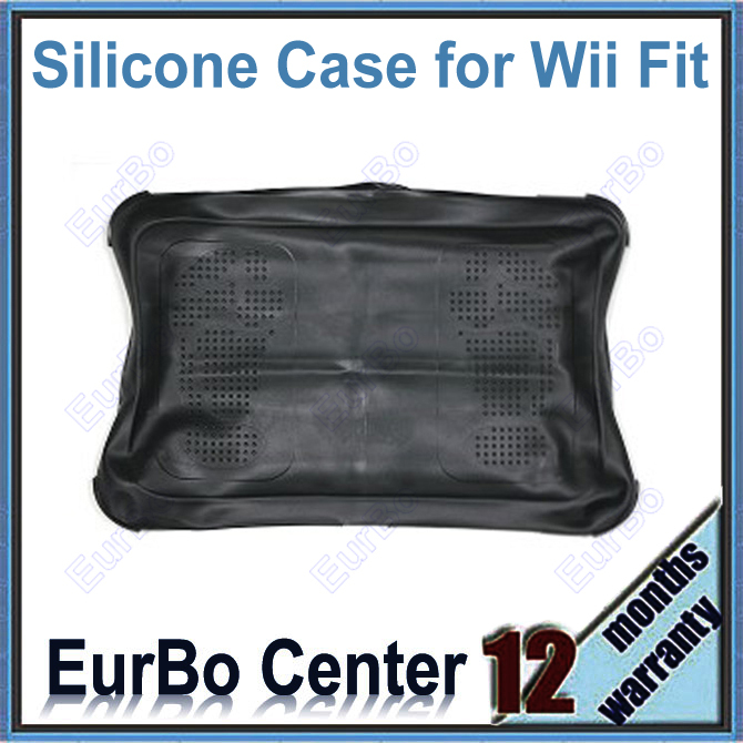 EurBo 5pcs a lot Silicone Case Protective Skin for Wii Fit Balance Board (Black)<br><br>Aliexpress