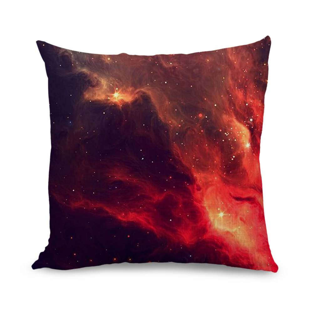 Bulk Throw Pillow Cases : Wholesale-18x18-inch-Art-illustration-volcano-design-Throw-Pillow-Covers-Sofa-Cushion-Cover ...