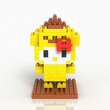 LOZ Diamond Building Blocks Hello Kitty Mixed Yellow Dog Japanese Anime Children's Favorite Mini Bricks Toys