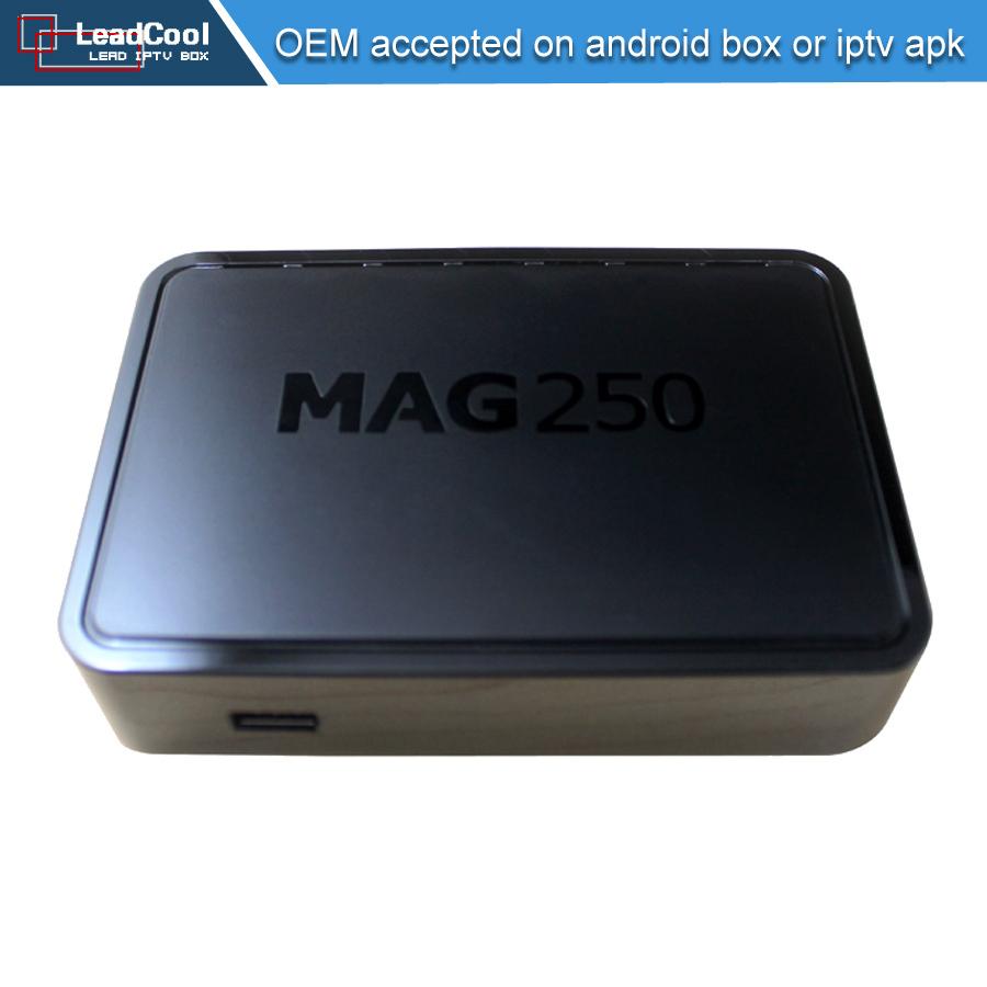 MAG 250 iptv Set Top Box Europe Hot Sale Linux TV Box European IPTV Box as same as mag254 MAG250 IPTV Receiver WiFi IPTV tv box(China (Mainland))