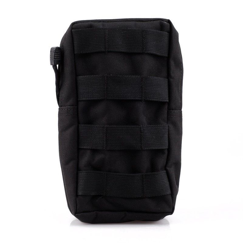 Tactical MOLLE/PALS Modular Utility Pouch Magazine Mag Accessory Medic Tool Bag Black(Hong Kong)