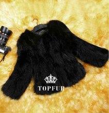 Natural Real Fox Fur Coat Genuine multi colors Fox Fur waistcoat Free Shipping TFP523(China (Mainland))