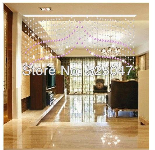 kristall perlgardine f r partition entranceway transparente perlen vorh nge transparent. Black Bedroom Furniture Sets. Home Design Ideas
