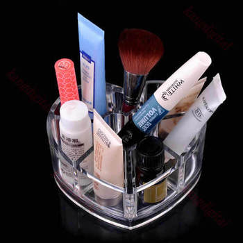 Free Shipping Cosmetic Organizer Drawer Makeup 8 Grids Lipstick Display Rack Box Cabinet Case