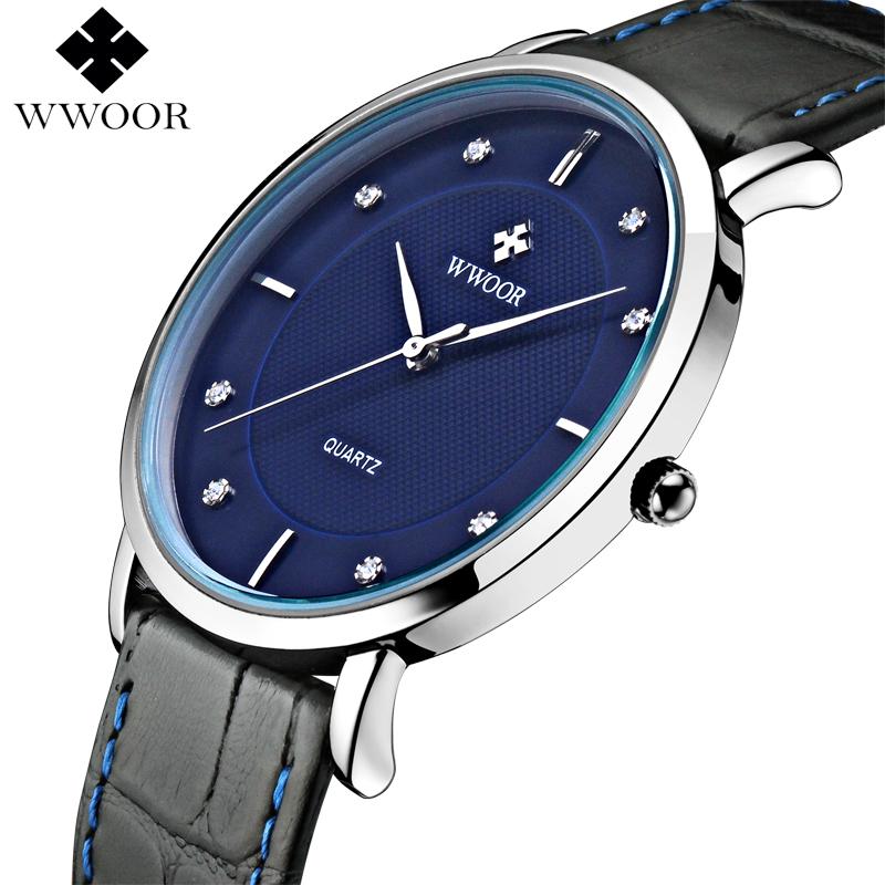 Top Brand 50m Waterproof Men Sports Watches Mens Quartz Ultra Thin Clock Genuine Leather Strap Casual Wrist Watch Male Relogio<br><br>Aliexpress