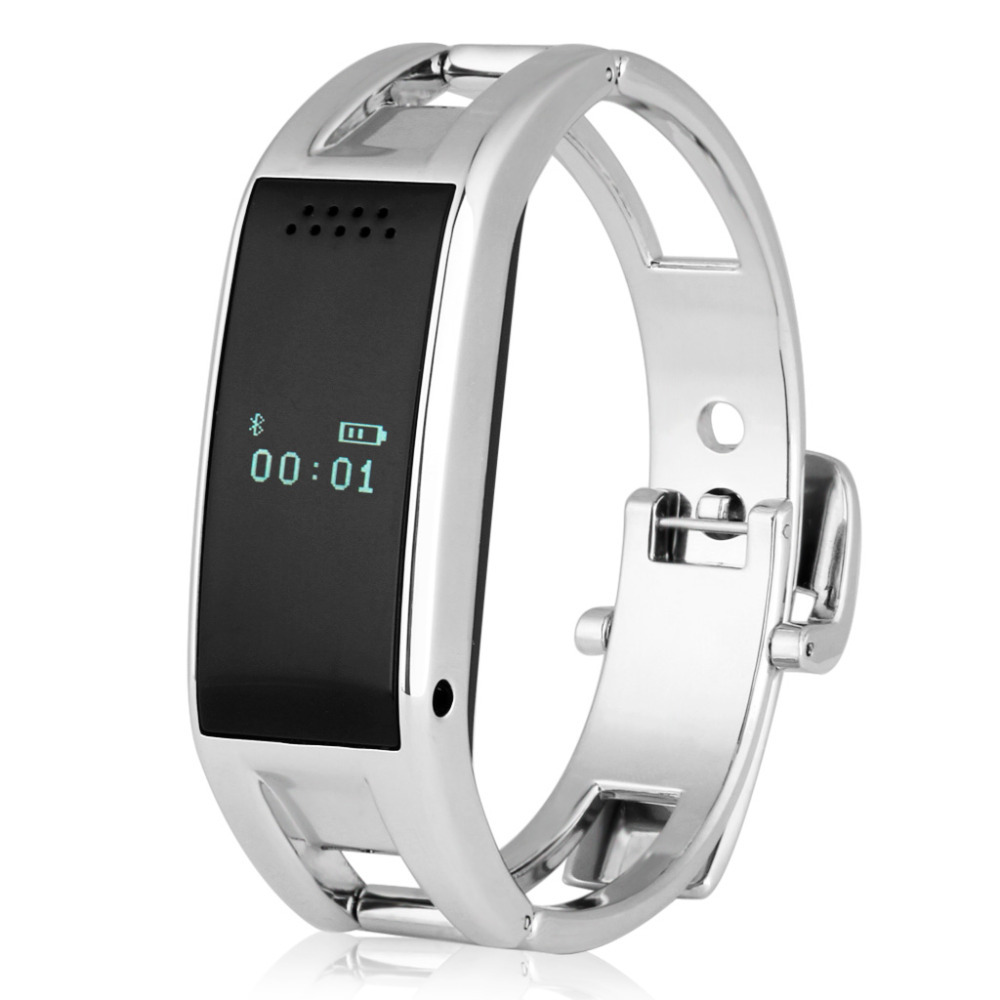 Гаджет  Excelvan Bluetooth Smart Bracelet Watch Sync Call SMS Music Reminder Anti-lost For Android IOS Phone None Бытовая электроника
