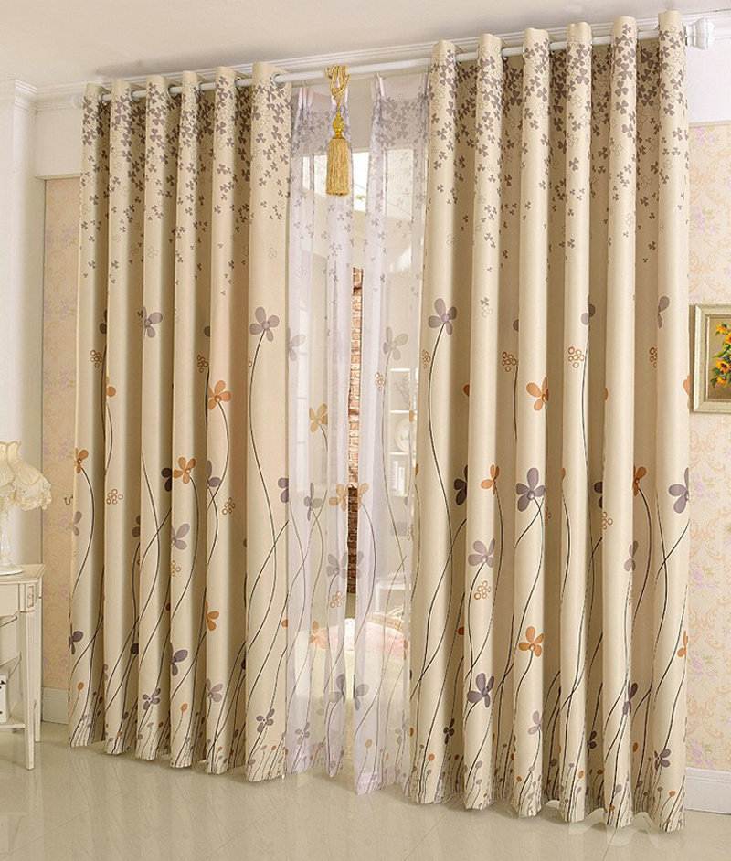 New arrival rustic window curtains for dining room kitchen Dining room window curtains