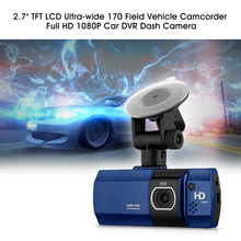 "Car DVR Camera 2.7"" Full HD 1080P TFT LCD Night Vision Digital Video Recorder 170 Wide Vehicle Dash Camcorder G-sensor WDR(China (Mainland))"