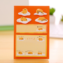 Buy 120pages/pc Lazy Egg Memo Pad N Times Post Sticky Notes Bookmark School Office Supply Escolar Papelaria Stationery Paper for $1.34 in AliExpress store