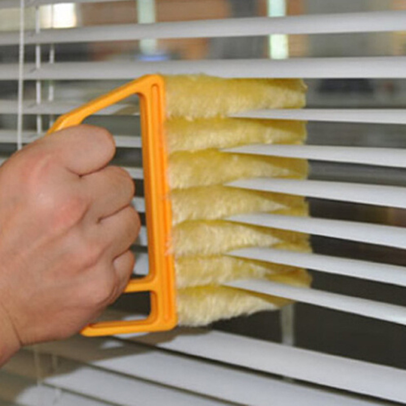 Practical Window cleaning brush ir Conditioner Duster cleaner with washable microfiber cleaning cloth window cleaner(China (Mainland))