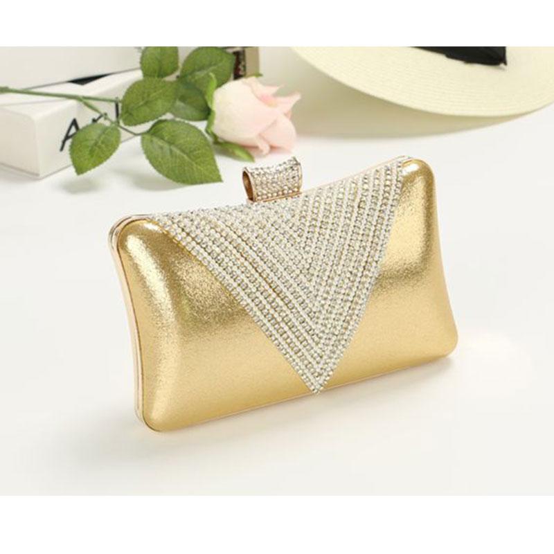 chain bag 2015 new women clutch pu leather messenger bag diamonds bolsa feminina fashion girls  shoulder bag solid box bag <br><br>Aliexpress