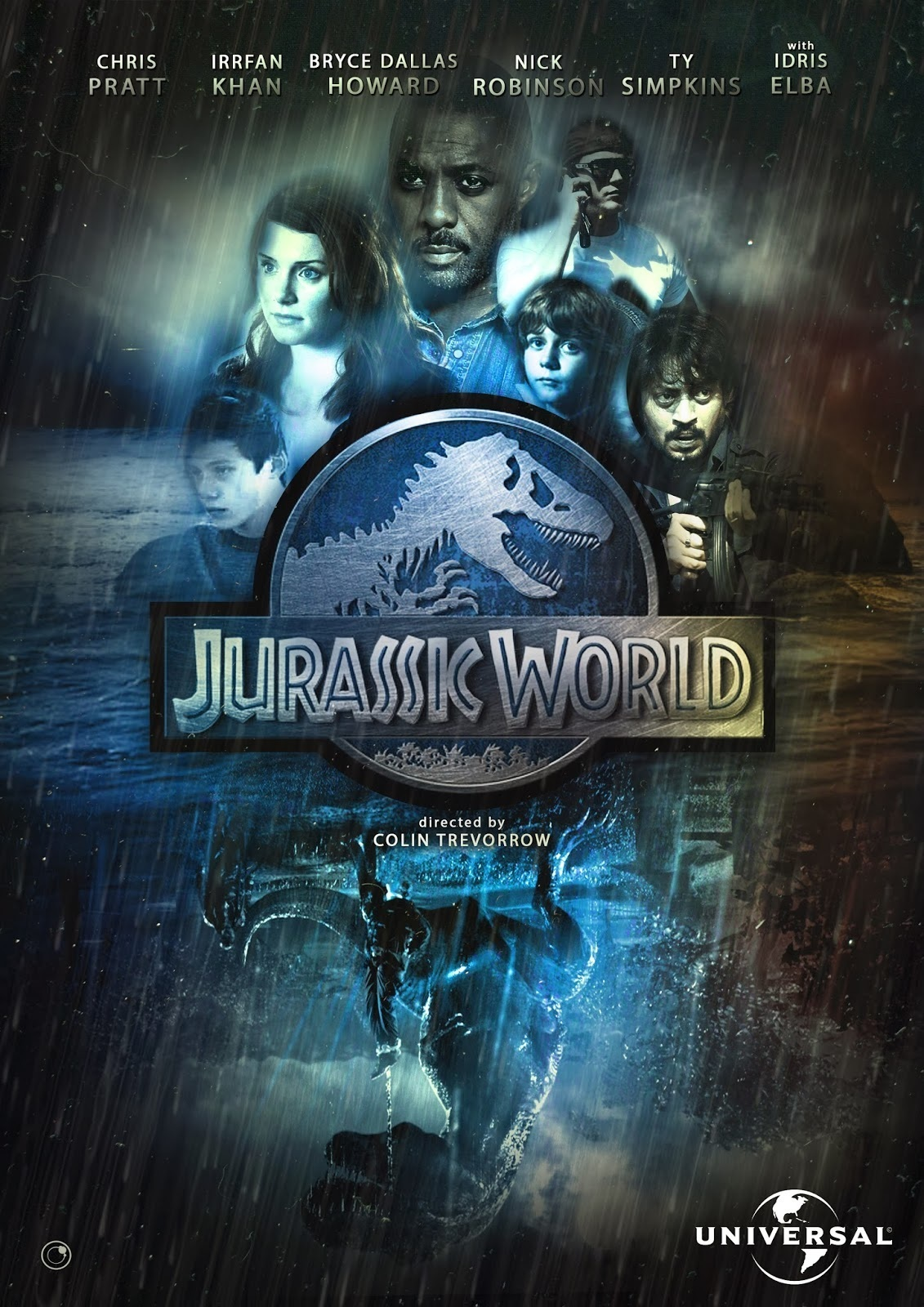 Jurassic World Poster Movie