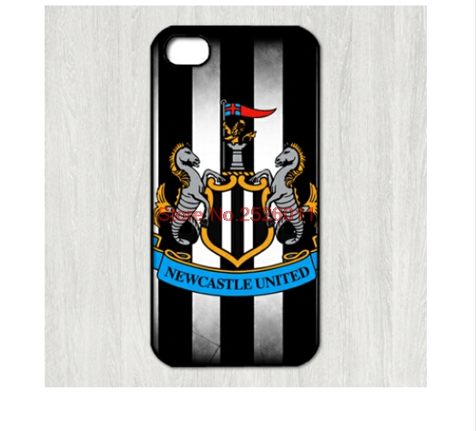 Newcastle United FC team logo case for Samsung Galaxy s2 s3 s4 s5 mini s6 edge Note 2 3 4 iPhone 4s 5s 5c 6 Plus iPod touch 4 5(China (Mainland))
