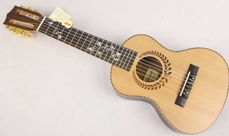 ukulele Guitar 28 inches musical instrument nylon 6 strings guitar EQ hot-ukulele guitar electric baby acoustic guitar Classic(China (Mainland))