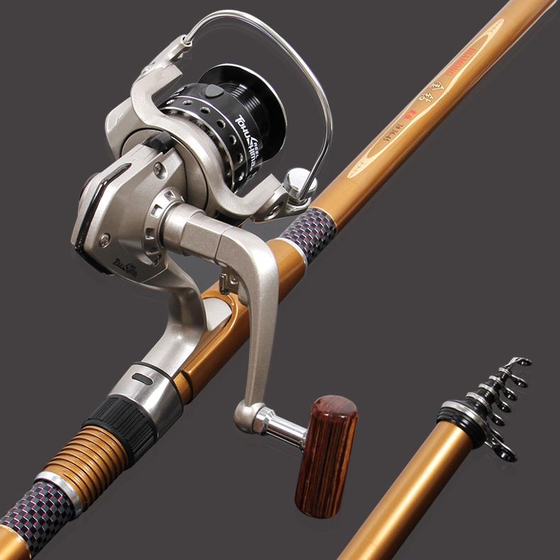 diamond 3 4 5 5 3 fishing rod set fishing rod carbon