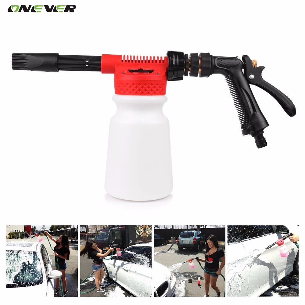 Car Washer High Pressure Snow Foamer Water Gun Profession Car Cleaning Foam Gun Washing Foamaster Gun Water Soap Shampoo Sprayer(China (Mainland))