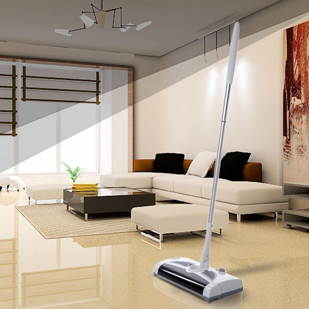 2 in 1 Swivel Cordless Vacuum Automatic Mop Floor Sweeper Rechargeable Cleaner Household Handheld Drag Sweeping Machine 100-240V(China (Mainland))