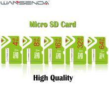 Buy WANSENDA Class 10 Memory Card Micro SD Card 4gb 8gb 16gb 32gb 64gb mini TF Card Free Adapter Microsd Card Smartphone for $3.89 in AliExpress store