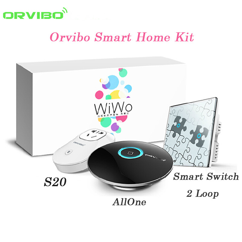 Orvibo Smart Home Automation System 3 Pcs Lot 1 Allone R1
