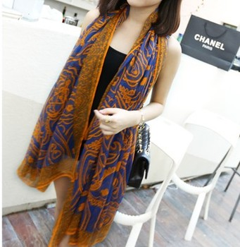 Bohemia Beach Scarf Scarves For Women Cotton Lengthen Cotton Scarf Pashmina Lady Summer Spring Autumn Drop Shipping s026