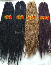 Free shipping afro twist braids, marley braid hair twists braid extension