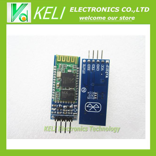 Free shipping 1PCS/LOT HC-06 Wireless Serial 4 Pin Bluetooth RF Transceiver Module RS232 TTL for Arduino + Drop Shipment(China (Mainland))