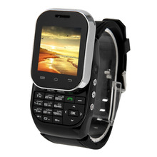 KEN XIN DA W1 Smart Watch Phone 1.44 inch QCIF Touch Screen Slide-out Keyboard Support Dual SIM Bluetooth FM Radio MP4 GSM(China (Mainland))