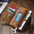 Second Layer Genuine Leather Case for iPhone 7 6 6S 6 Plus 6Plus Multi Functional 2