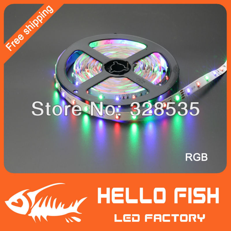 5m 300 LED 3528 SMD 12V flexible light 60 led/m,LED strip, white/warm white/blue/green/red/yellow(China (Mainland))