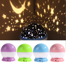 Newest Romantic Star Sky Projector Night Light Rotatable Cosmos Starry Lamp USB AAA Battery Operated Room Decoration Lights NVIE(China (Mainland))
