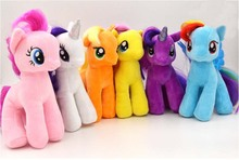 Retail 30cm minecraft my cute lovely little horse Plush toys poni doll toys for Children Funko POP Toys free shipping(China (Mainland))